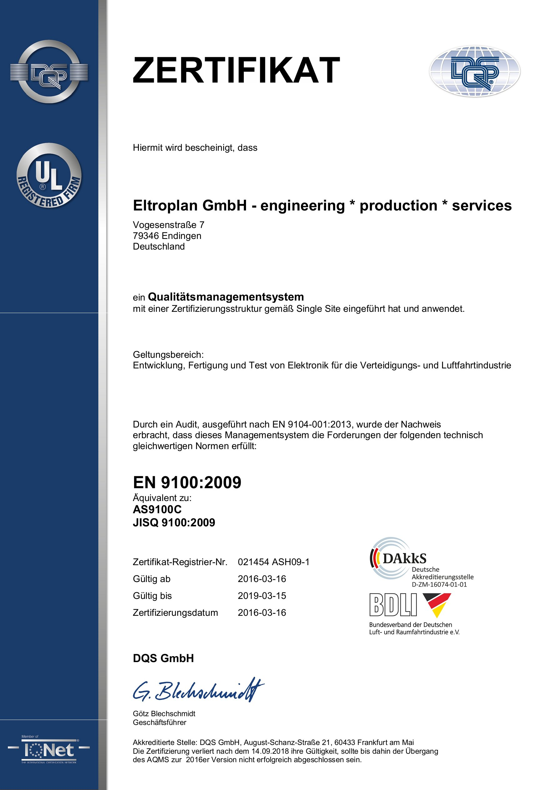 Certification eltroplan eltroplan engineering 1betcityfo Image collections